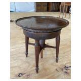 MAHOGANY ADJUSTABLE TABLE 19TH CENTURY