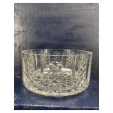 WATERFORD CUT CRYSTAL FOOTED LOW BOWL