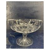 WATERFORD CRYSTAL LISMORE COMPOTE FOOTED CANDY