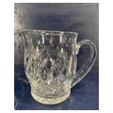 WATERFORD CUT CRYSTAL JUICE PITCHER