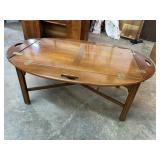 CHERRY CHIPPENDALE BUTLERS TABLE