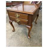 SOLID CHERRY QUEEN ANNE TABLE