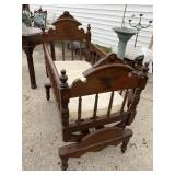 VICTORIAN CRADLE ON STAND