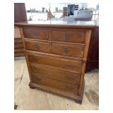 CHERRY TALL CHEST BY BASSET