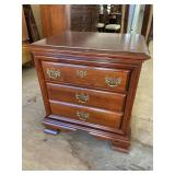 LARGE SOLID CHERRY NIGHTSTAND