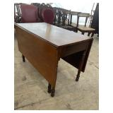 EARLY 19TH CENTURY CHERRY DROP LEAF TABLE