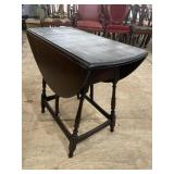 MAHOGANY DROP LEAF BUTTERFLY TABLE