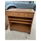 ONE DRAWER MAPLE CABINET