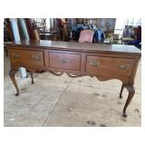 EXTRA CLEAN SOLID CHERRY QUEEN ANNE SIDEBOARD