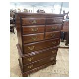 CRAWFORD FURNITURE CHERRY TALL CHEST