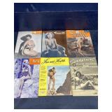 LOT OF 6 NUDE 1950