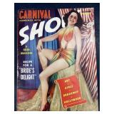 1941 CARNIVAL& SHOW RISQUÉ MAGAZINE