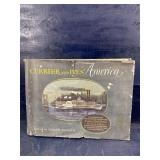 1952 CURRIER & IVES 80 PRINTS IN FULL COLOR BOOK