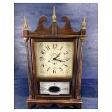 NEW ENGLAND CLOCK CO LARGE MANTLE CLOCK