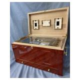 LARGE HUMIDOR NEVER USED