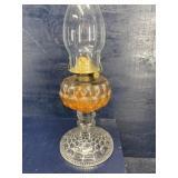 EARLY BUBBLE OIL LAMP