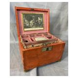 EARLY SEWING BOX