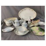 13 pc PORCELAIN AND CHINA LOT