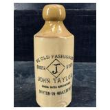 JOHN TAYLOR YE OLD FASHIONED GINGER BEER POTTERY