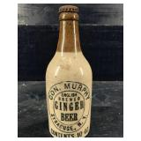 CON. MURPHY ENGLISH BREWED GINGER BEER POTTERY