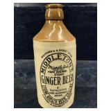 MIDDLETONS HOME BREWED STONE GINGER BEER POTTERY