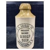 J.S. BRIGGS CO. AMERICAN BREWED GINGER BEER