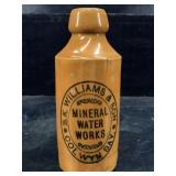S.K. WILLIAMS & SON MINERAL WATER WORKS POTTERY