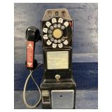 BELL SYSTEM ROTARY DIAL PAY WALL TELEPHONE VINTAGE