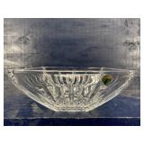 WATERFORD CRYSTAL LISMORE LARGE SQUARE CENTER BOWL