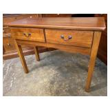 CHERRY 2 DRAWER CONSOLE TABLE