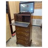 LINK-TAYLOR SOLID MAHOGANY LINGERIE CHEST