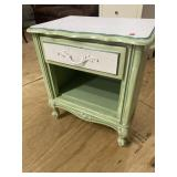 PAINTED FRENCH PREVENTIAL NIGHTSTAND