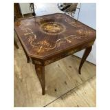 FRENCH INLAID MULTI GAME TABLE
