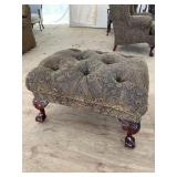 OVER SIZED CHIPPENDALE OTTOMAN
