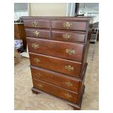 SOLID CHERRY CHEST ON CHEST