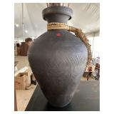 POTTERY PAINT DECORATED VASE