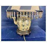 PORCELAIN TEA POT LAMP