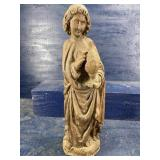 LARGE HAND CARVED FIGURE
