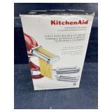 KITCHENAID 3 pc pasta roller/ cutter