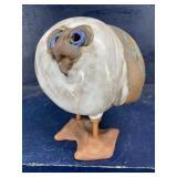 POTTERY BIRD, KAOLIN DAVIS 1994, 7 tall