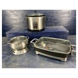 3 PC COOKWARE LOT