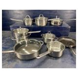 8 pc COOKWARE LOT