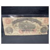 1861 VIRGINIA STATE TREASURY $1 NOTE