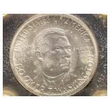 1946 BOOKER T WASHINGTON HALF DOLLAR COIN