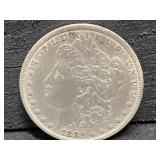 1882 P MORGAN SILVER DOLLAR