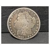 1888 O SILVER MORGAN DOLLAR