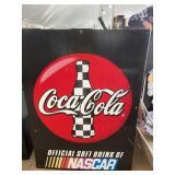 NASCAR COCA COLA ADVERTISEMENT