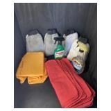 SHOP RAG CAR CLEANING LOT