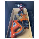 BLACK AND DECKER TOOL LOT