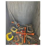 17 PC CLAMP LOT